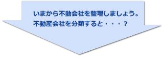 不動産会社を分類すると…?↓