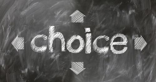 選択肢のイメージ